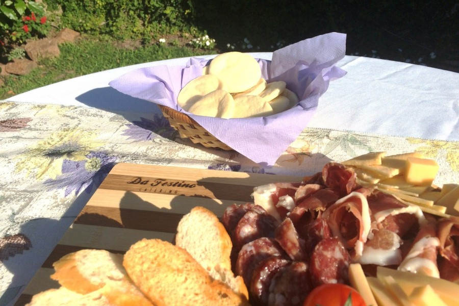 Tablas de quesos y fiambres